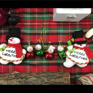 Other - New Christmas Holiday Decorations Set of 6 Jingle